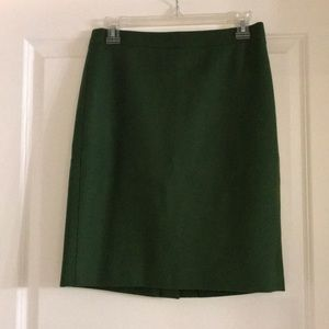 J. CREW The Pencil Skirt Size 0